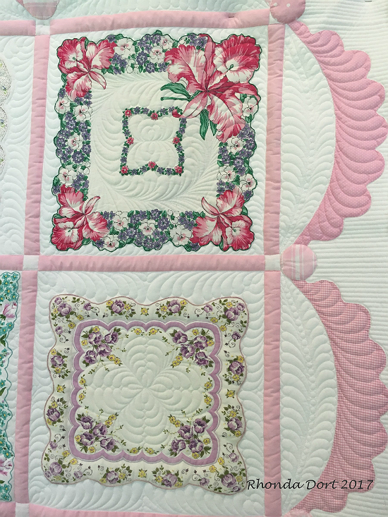 Create a Lovely Quilt from Vintage (or new) Hankies