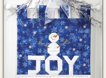 Joy Snowman Quilt Pattern