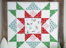 Joyful Barn Star Quilt Pattern
