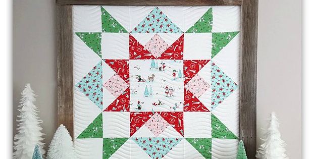 Joyful Barn Star Quilt Pattern