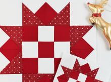 Reindeer Games Quilt Block Tutorial