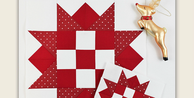 Reindeer Games Quilt Block Tutorial