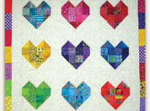Scrappy Sweethearts Quilt Pattern