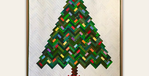 New Slant on Christmas Quilt Pattern