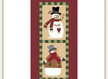 Snow Pals Quilt Pattern