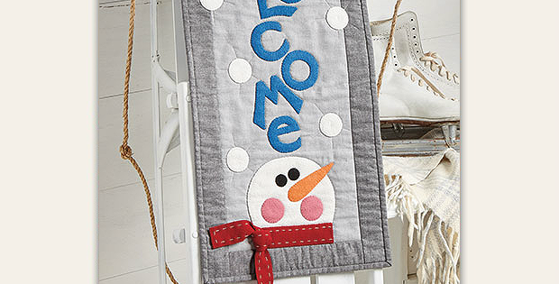 Winter Welcome Wall Hanging Pattern