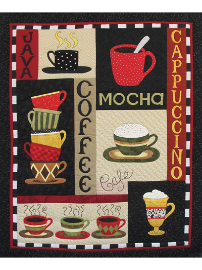 Coffee Wall Hanging Pattern