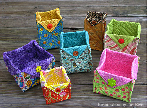 Fabric Baskets Tutorial