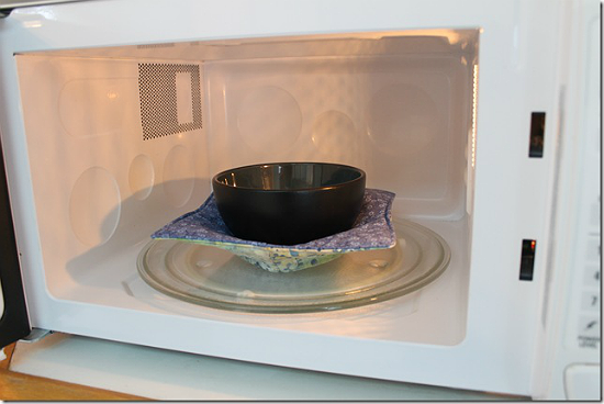 Microwaveable Fabric Bowl Tutorial
