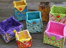 Fabric Baskets Tutorial
