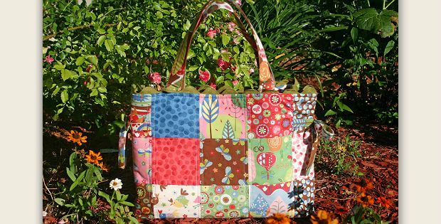 ada3b2ddf Dress Up a Patchwork Bag with Decorative Ties - Quilting Digest