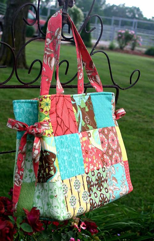 Charm Pack Bag Tutorial