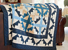 Crossing Point Quilt Pattern