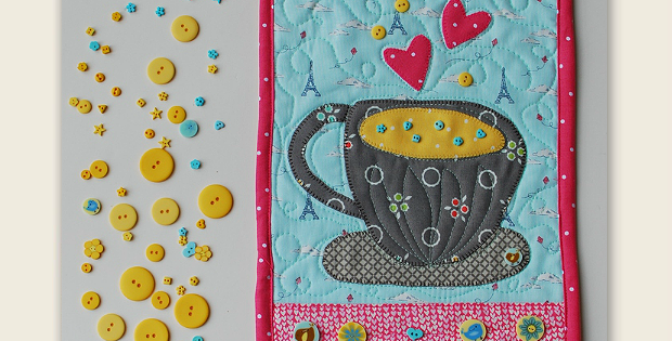 A Cuppa ... Banner Pattern