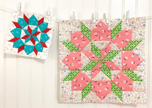 Grandma's Star Block Pattern