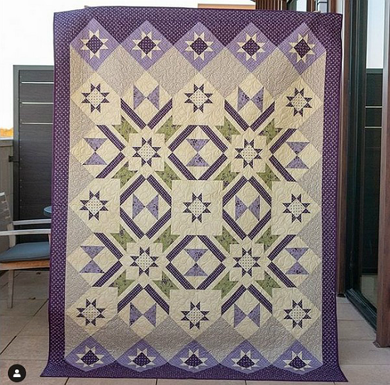 Hidden Grove Quilt Pattern