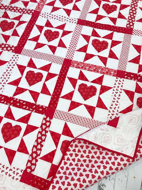 Love Struck Quilt Pattern