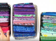 Sort, Fold and Store Your Fabric the KonMarie Way