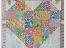 Patchwork Heart Block Pattern