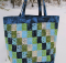 Streak of Lightening Patchwork Tote Pattern
