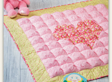 Puffy Heart Quilt Pattern