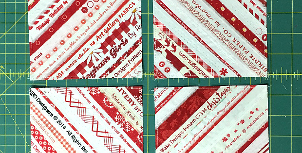 How to Create Quilt Blocks from Selvages