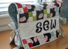 Sew Happy Sewing Machine Cover Tutorial