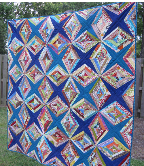 Diamonds and Stars Quilt