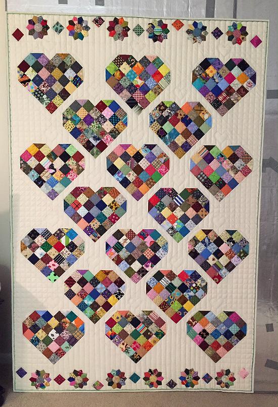 Valentine Candy Quilt