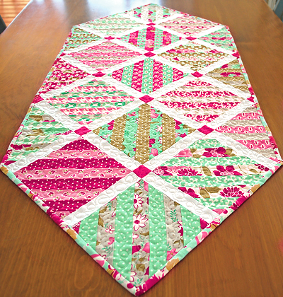 Slice of Cake Table Runner Pattern