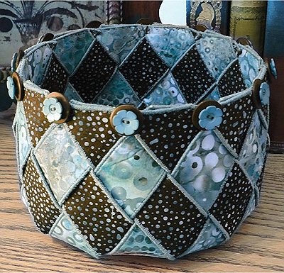 Woven Spirals Bowl Pattern