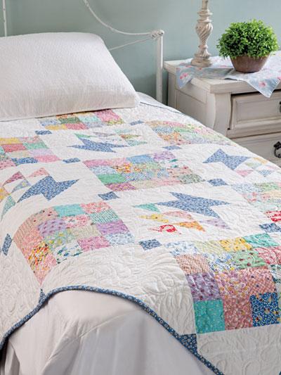 Mama's Scrap Basket Quilt Pattern