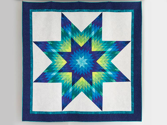 Glowing Lone Star Quilt Kit