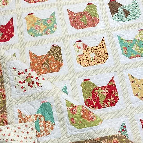 Nesting Quilt Pattern