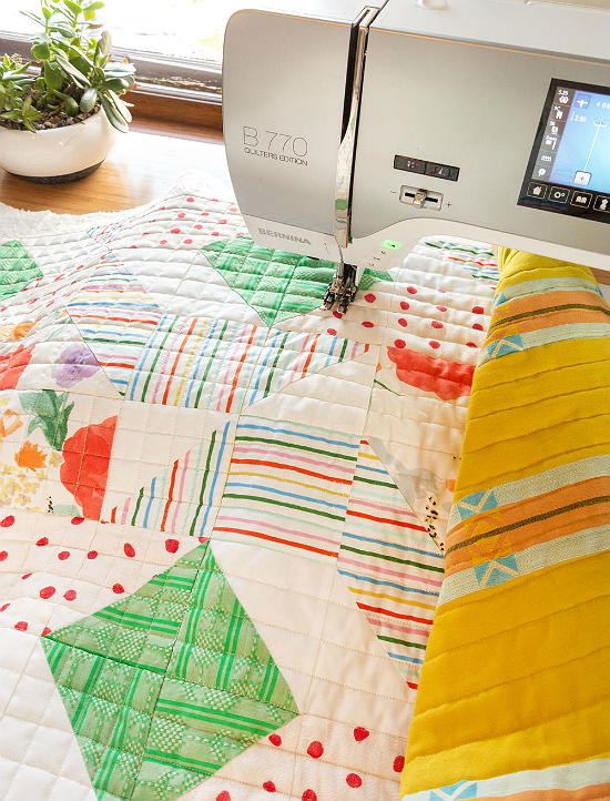 6 Great Tips for Straight Line Machine Quilting