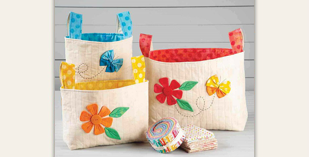 These Decorative Fabric Boxes Are Pretty And Useful
