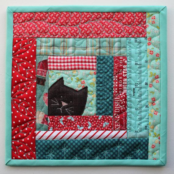 Kitty Potholder Pattern