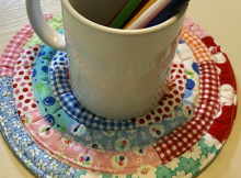 Jelly Roll Trivets Pattern