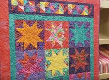 Kaffe Stars Quilt Pattern