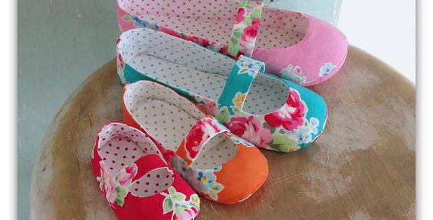 Mary Jane Flats Pattern Set