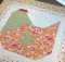 Nesting Table Topper Quilt Pattern