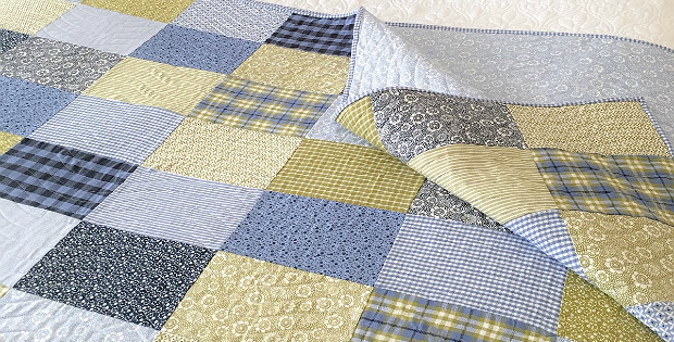 Oxford Patchwork Quilt Instructions