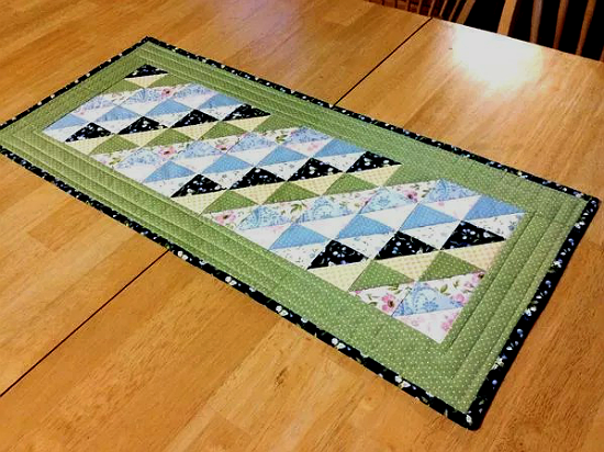 Spring Garden Table Runner