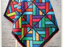 Tessellating Diamonds Quilt Pattern