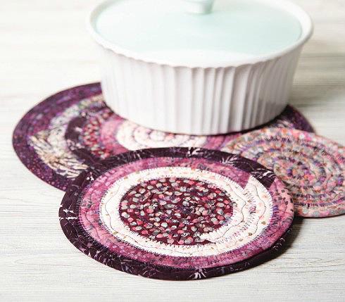 Jelly Roll Trivets Pattern