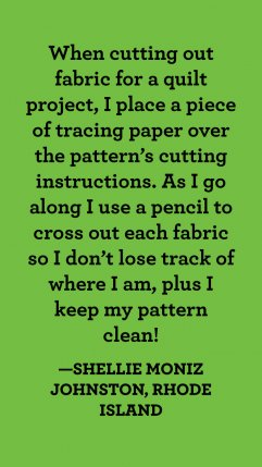 20 Creative Quilting Hacks to Save You Time