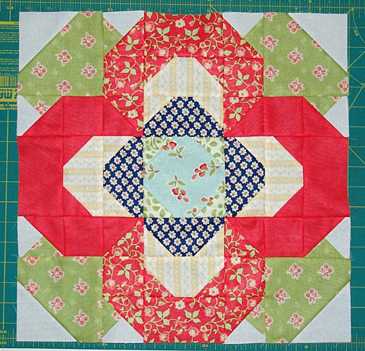 Flower Quilt Block Tutorial