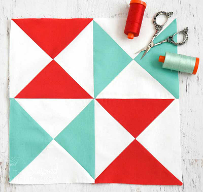 How to Perfectly Square-up Hourglass Blocks
