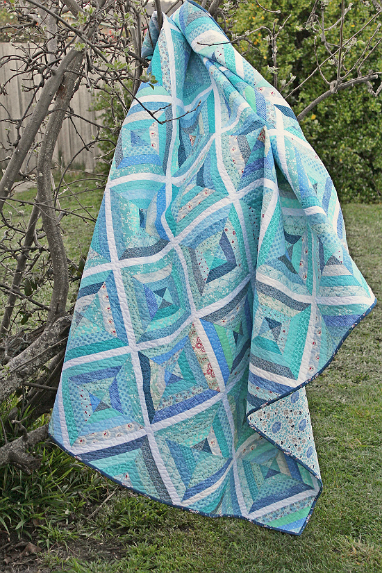 Little Blue Quilt