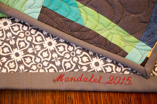 Save Time and Label a Quilt's Binding With These Tips